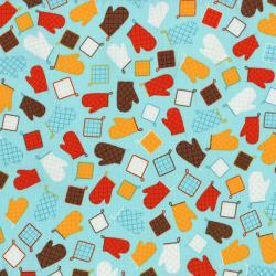 2605-001 In The Kitchen - Hot Pads - Fresca Fabric