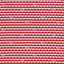 2631-002 Bugsy - Scallop Bug - Poppy Fabric