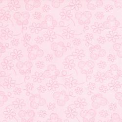 RJR Bugsy Pink W/Flowers