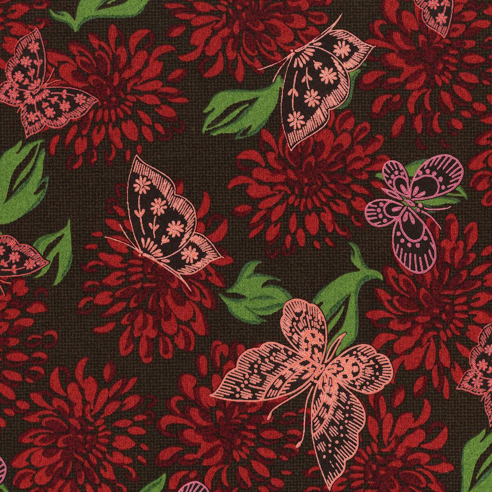 Kyoto - Butterflies<br>23070-002 - Poppy