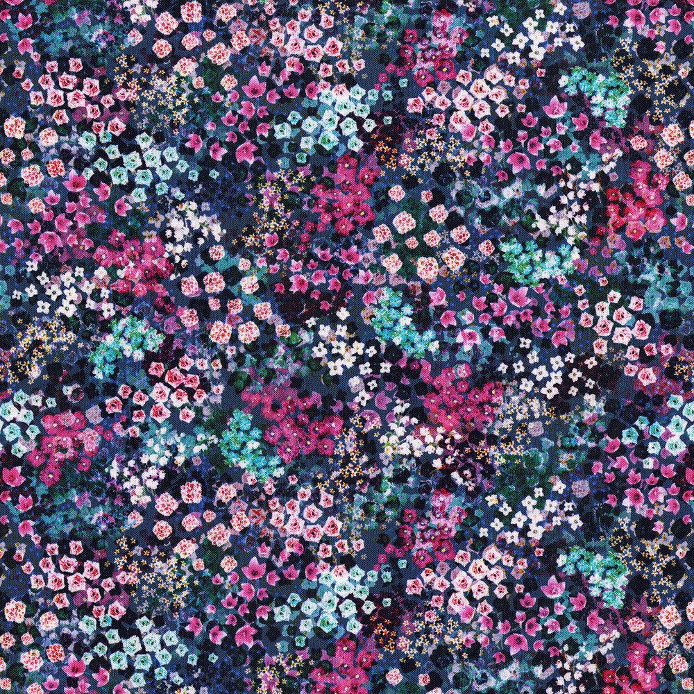 Enchanted Meadow Delphinium- Wildwood Way Digiprint