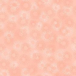 Hopscotch - Deconstructed Dandelions - Blush Fabric