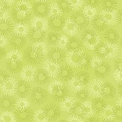 Hopscotch - Deconstructed Dandelions - Sage Fabric