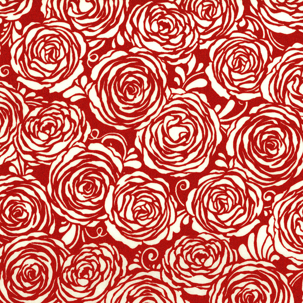 Sugar Berry Red Roses Sparkly