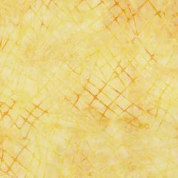 3625-004 Malam Batiks VI Lights & Brights - Crackle - Buttercup Fabric