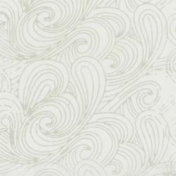 Malam Batiks VI Swirl - Off White