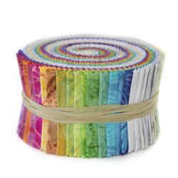 Malam Batiks VI Lights & Brights 2.5 Pixie Strips 40pcs