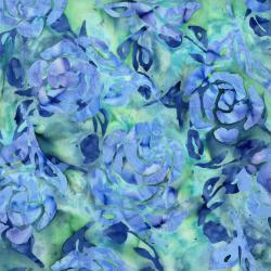 Blossom Batiks - Cascade - Floral/Catmint