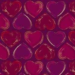 Shiny Objects - Good as Gold - Locket - Wine Metallic - 300510-018