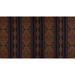 JB200-BR4 Andalucia - Border Stripe - Brick Fabric