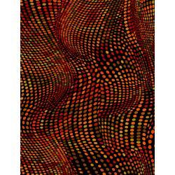 JB201-BR4 Andalucia - Dots - Brick Fabric