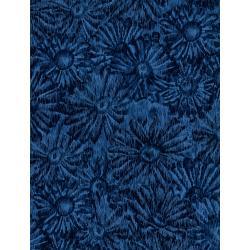 JB202-LA3 Andalucia - Daisies - Lagoon Fabric
