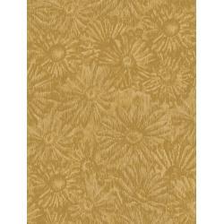JB202-OC4 Andalucia - Daisies - Ochre Fabric