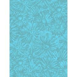 JB202-TE1 Andalucia - Daisies - Teal Fabric