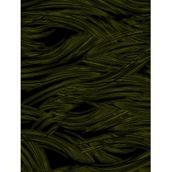 JB203-GR3 Andalucia - Waves - Grass Fabric