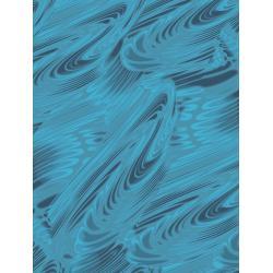 JB204-SA2 Andalucia - River - Sapphire Fabric