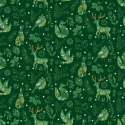 Winter Dreams - Winter Gathering - Spruce Metallic