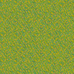 KK104-MO2 Floret Geometric - Conflorations - Moss Fabric