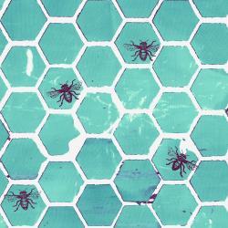 Pollinator - Bumblehoney - Aqua - 3700-007