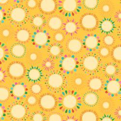Adventure - Hello Sunshine - Goldenrod Fabric