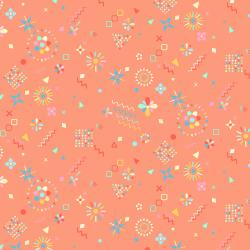 Adventure - Magical Flowers - Flamingo Fabric