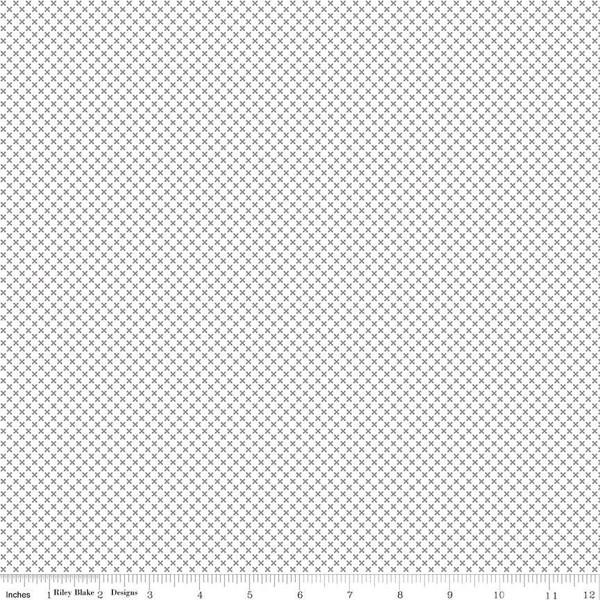 Kisses On White Gray