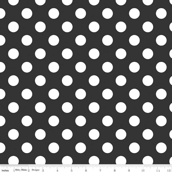 Medium Dot Black