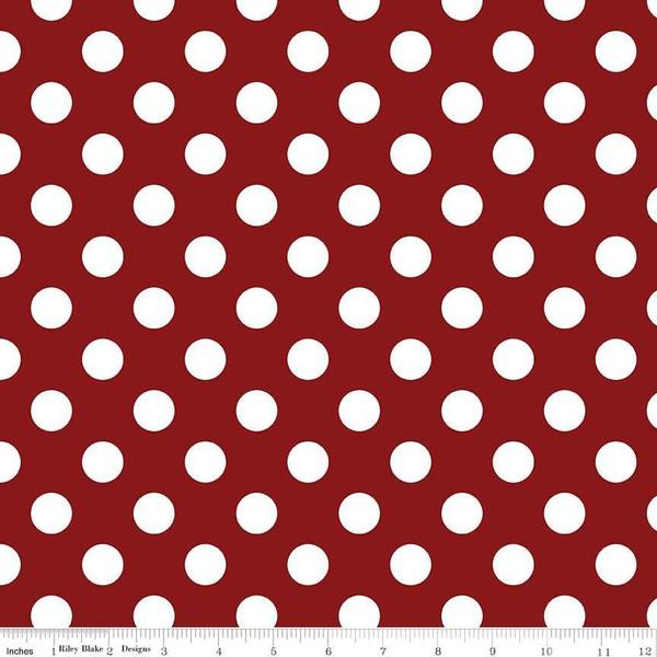 Medium Dots Crimson
