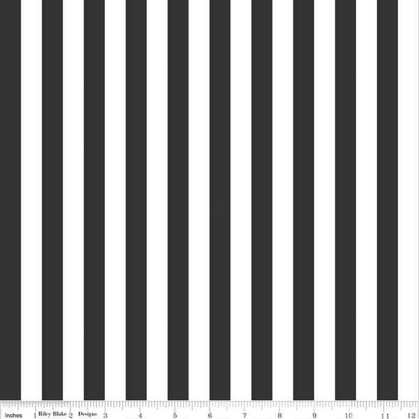 1/2 Stripe Black C530 110