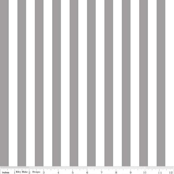 1/2 Stripe Gray C530 40