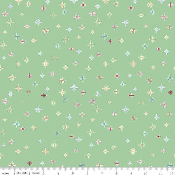 Cozy Christmas Sparkle Mint