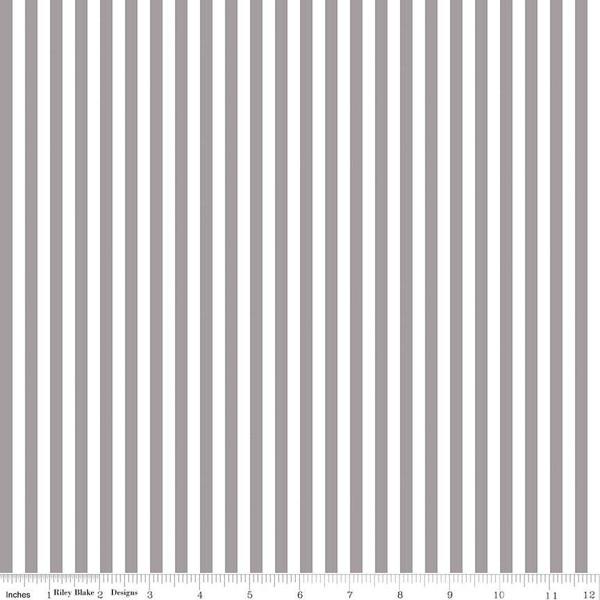 1/4 Stripe Gray C555