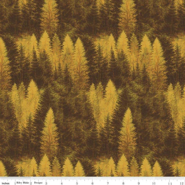 Forest with Fall Foliage:  Majestic Outdoors by Greg & Co. for Penny Rose Fabrics