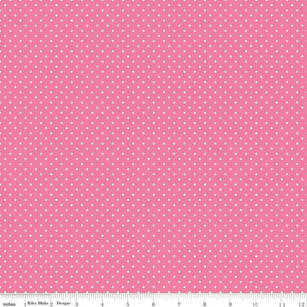 Swiss Dot/Hot Pink/Riley Blake