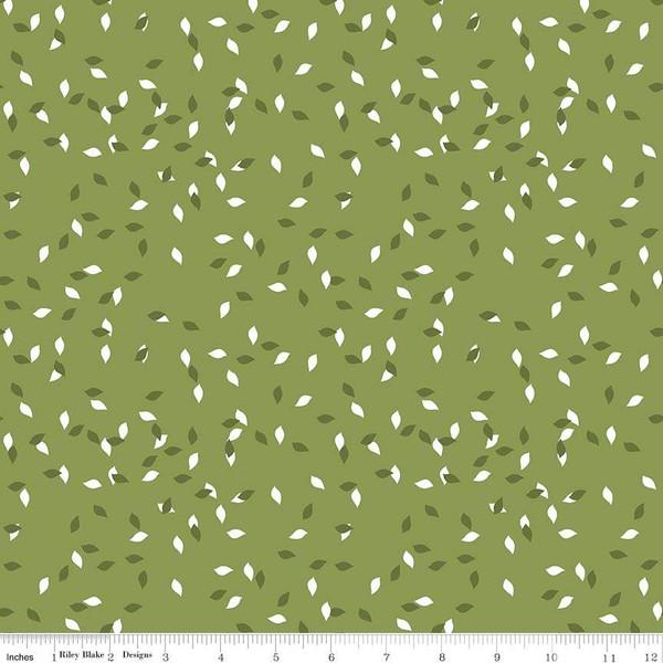 Summer Blush Leaf Green