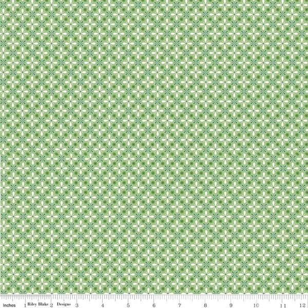 C7879-GREEN Farm Girl Vintage  Green