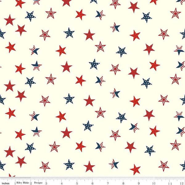 Celebrate America Stars - Cream