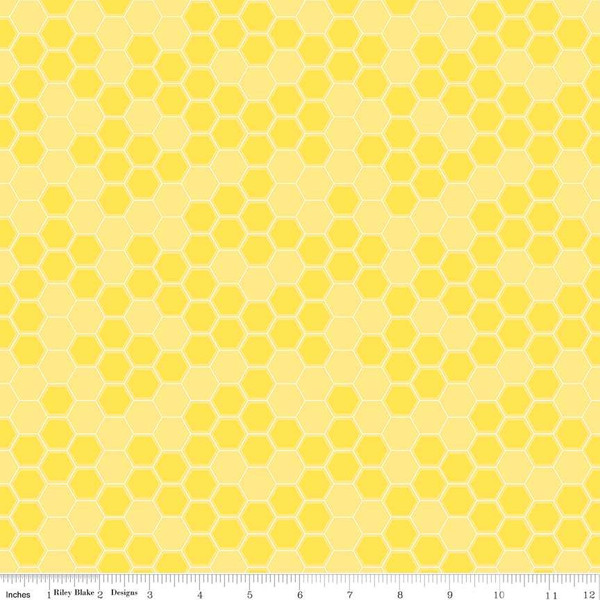Honey Run Honeycomb  C8384-YELLOW