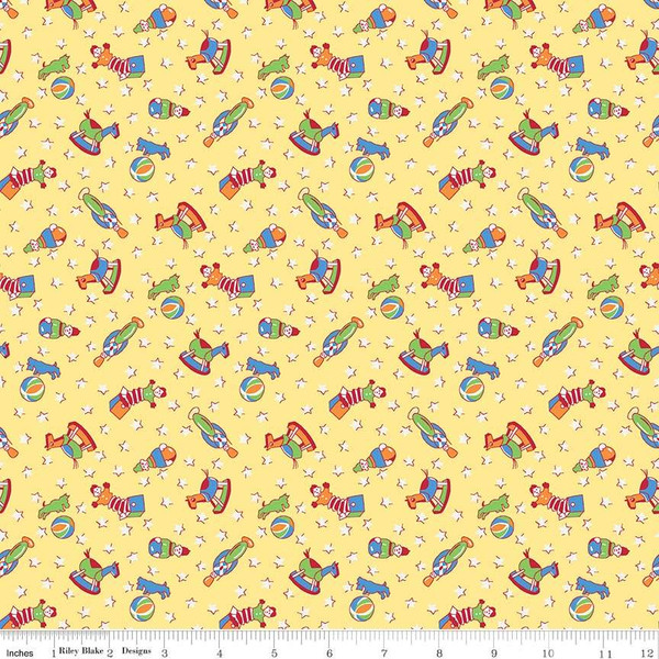 Storytime 30s Toys Yellow