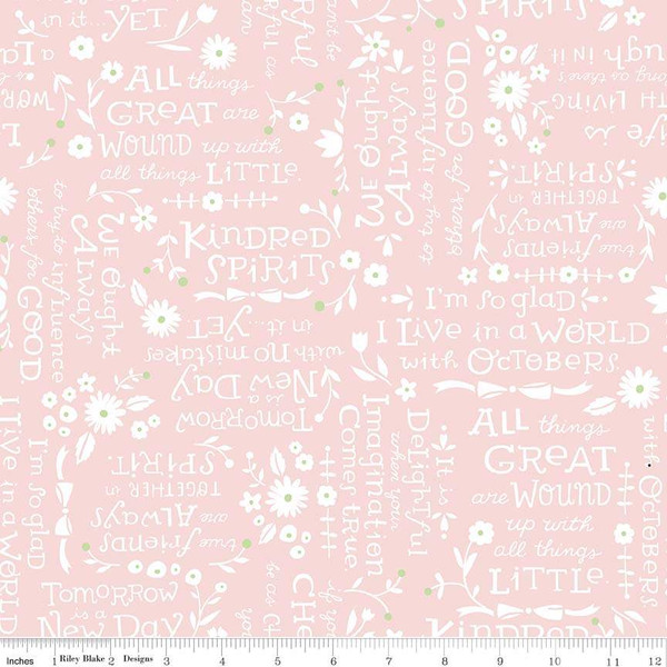 Kindred Spirits Quotes Pink C8534