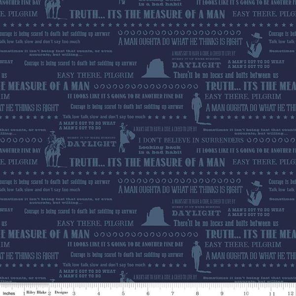 John Wayne - Quotes<br>Navy - C8575