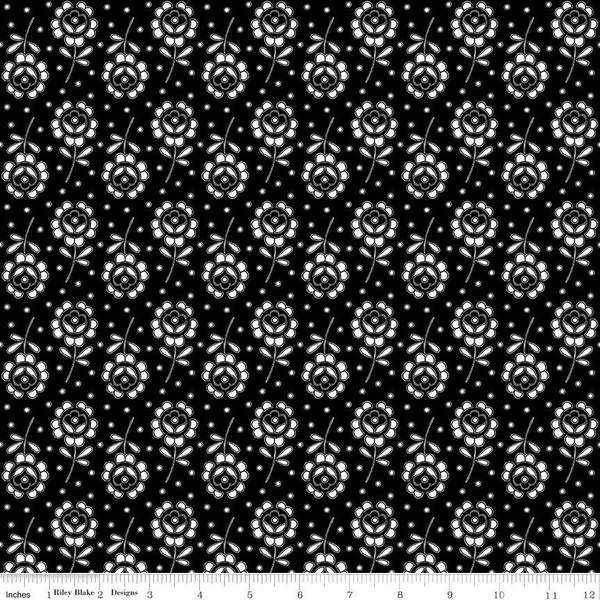 Couturiere Parisienne Fleurs Coupees Black