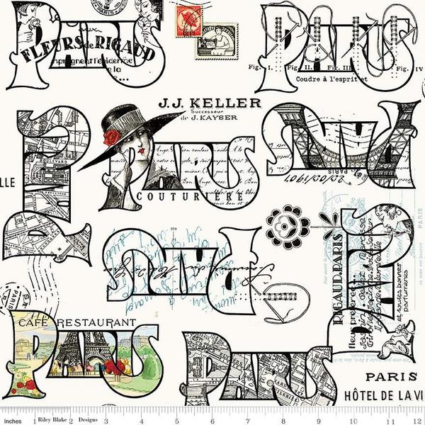 Couturiere Parisienne Cartes Postales Cream