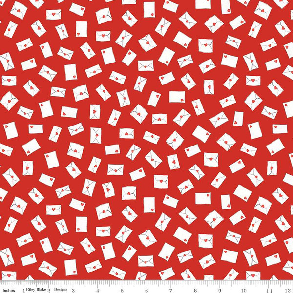 Love Letters Envelopes Red