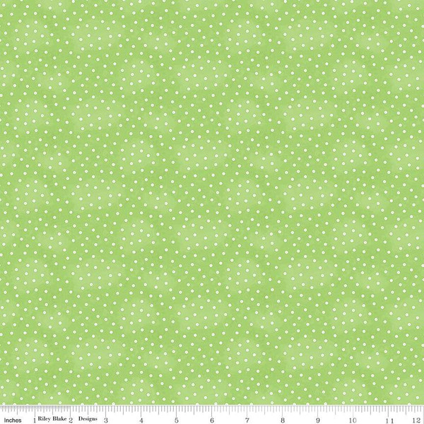 Painter's Palette - Baby Buttons, Green - by J Wecker Frisch for Riley Blake Designs