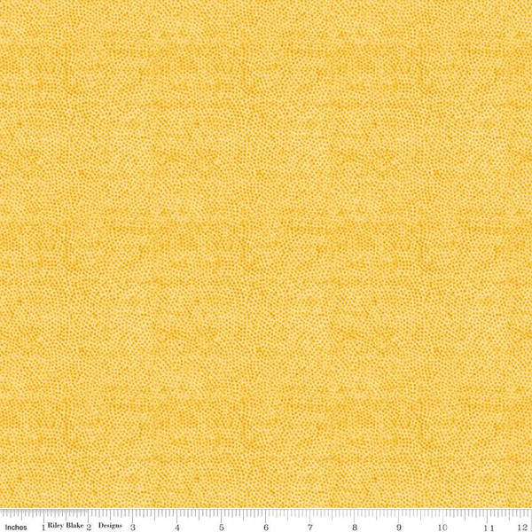 Painter's Palette - Half Tone Dots, Yellow - by J Wecker Frisch for Riley Blake Designs