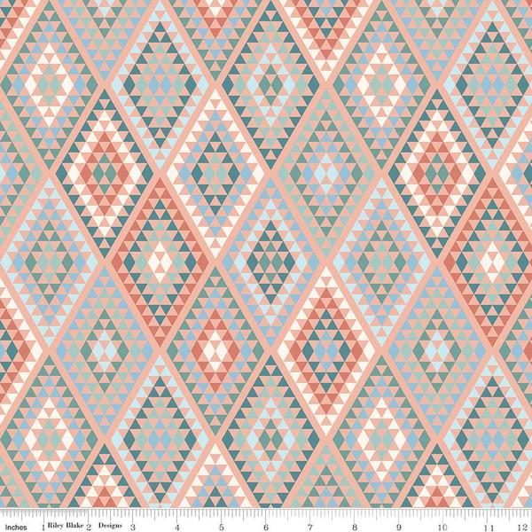 Dream Weaver Diamonds Peach C9054