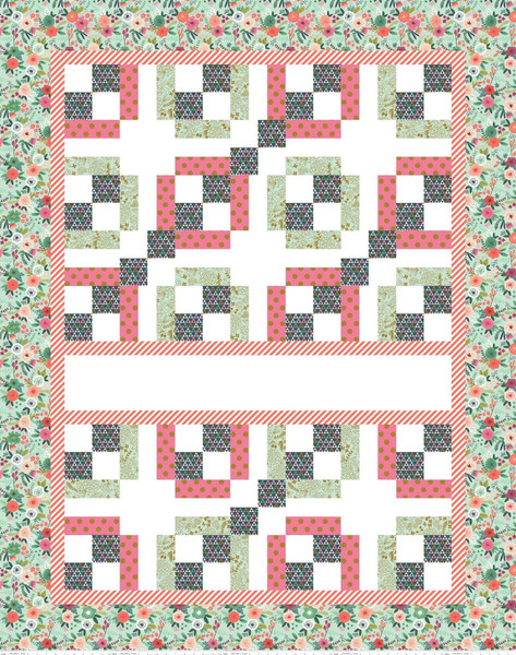 EXPRESS YOURSELF QUILT PANEL ON TREND