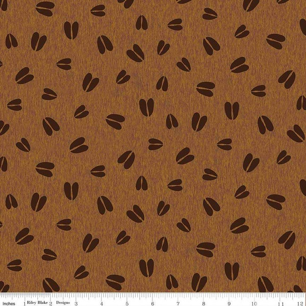 Flannel Pinewood Acres Tracks Brown
