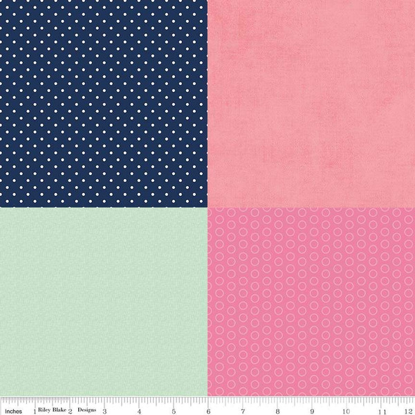 Fusible Cotton Fat Sixth On Trend